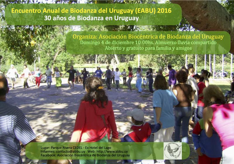 Encuentro Anual de Biodanza 2016