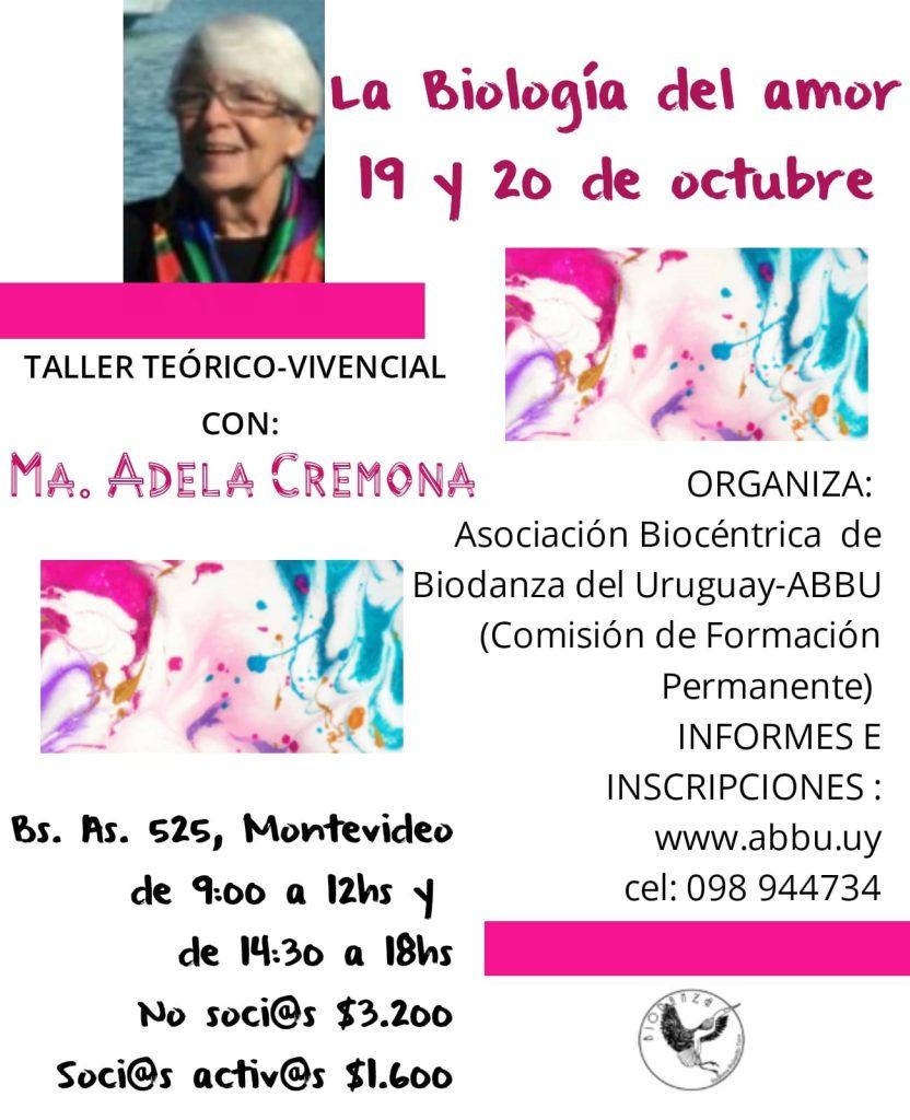 Biología del Amor - María Adela Cremona