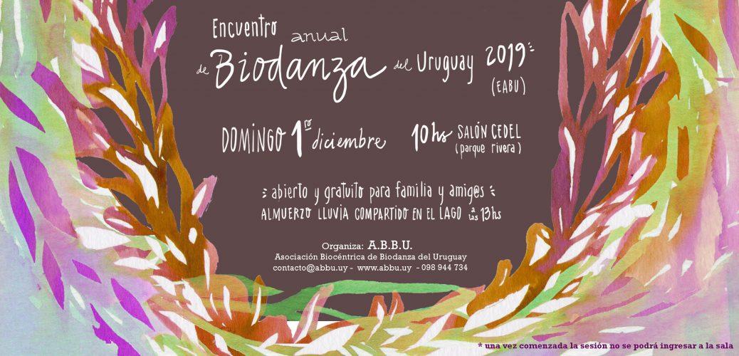 Encuentro Anual de Biodanza del Uruguay 2019